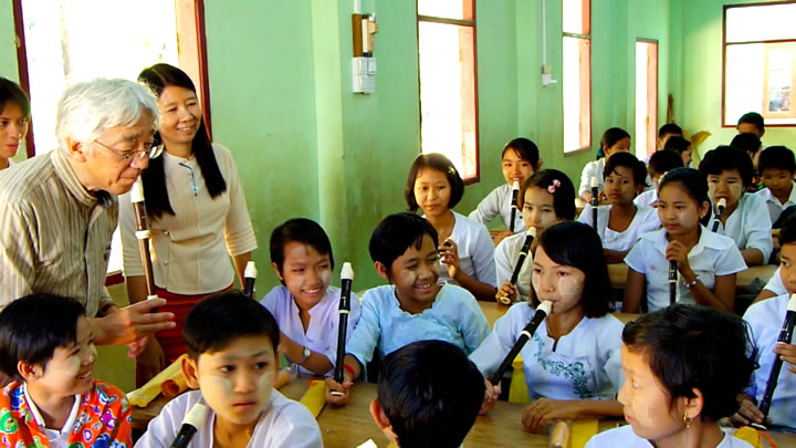ミャンマーダゴウ地区援助アクティビティ